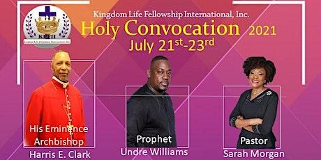 KLFII Holy Convocation 2021 tickets