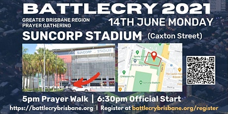 The Battle Cry 2021 tickets