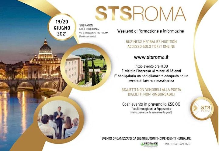 Immagine STS ROMA Giugno | Weekend di Formazione BUSINESS Herbalife Nutrition