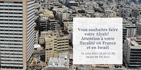 Fiscalité France Israel billets