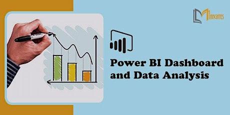 Power BI Dashboard and Data Analysis Virtual Training in Tampico tickets