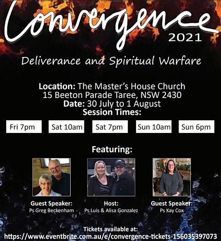 Convergence  2021- Deliverance & Spiritual Warfare Conference image