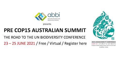 Pre COP 15 Australian Summit tickets