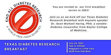 Texas Diabetes Research Breakfast tickets