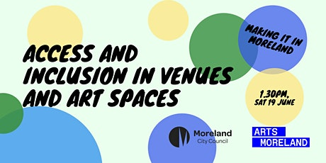 Access and Inclusion in Venues and Art Spaces [MiiM] tickets