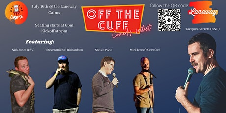 Off the Cuff - comedy setlist tickets