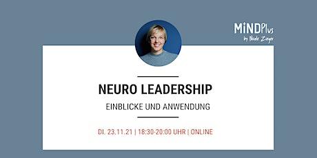 Neuro Leadership - Einblicke und Anwendung Tickets
