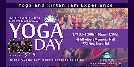 Auckland International YOGA DAY 2021 tickets