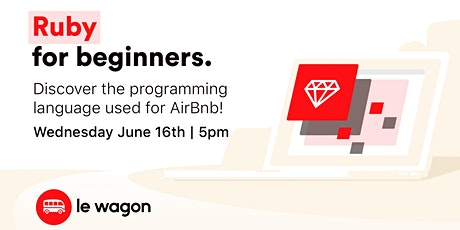 Workshop Introduction to Ruby programming language tickets
