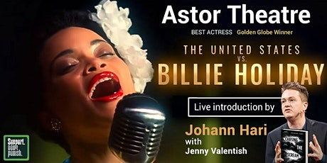 The United States vs Billie Holiday with  Johann Hari tickets