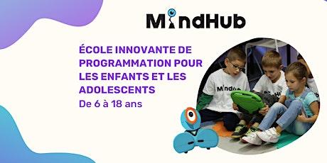 MindHub - Programming for Kids billets