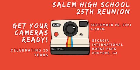 Salem High School Class of 1996 Reunion tickets