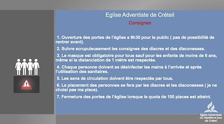 Image pour EDS / Culte de l'église adventiste de Créteil
