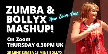 Zumba & BollyX Mashup Class on Zoom tickets