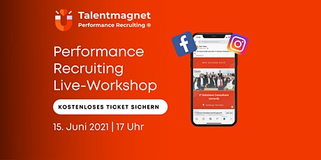 Performance Recruiting Live Online-Workshop Tickets