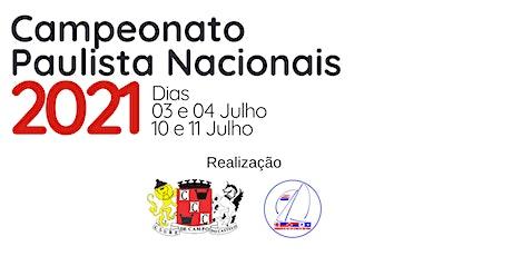Campeonato Paulista Nacionais 2021 ingressos