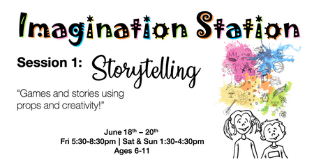 Kids' Imagination Station Acting Camp tickets