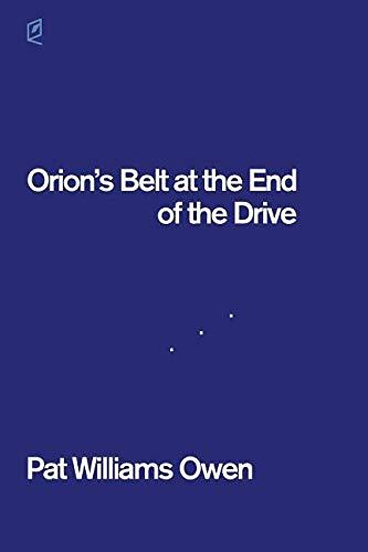 """Poetry Book Club """"Orion's Belt at the End of the Drive"""" by Pat Owen image"""