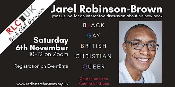 RLC UK Book Club: Jarel Robinson-Brown - Black Gay British Christian Queer image