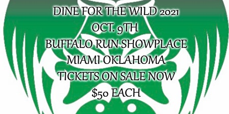 Dine for the Wild 2021 tickets