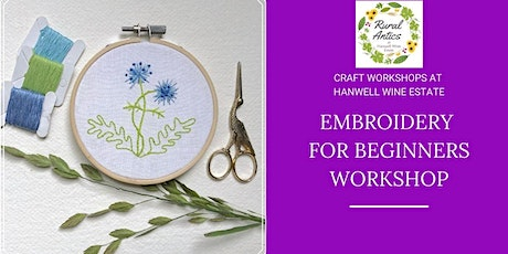 Embroidery Workshop for Beginners tickets