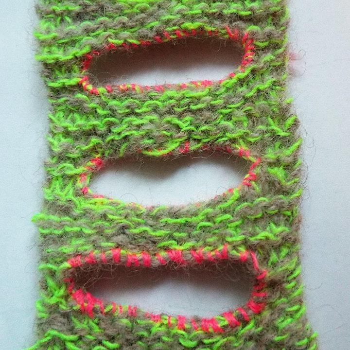 Neon Knitting image