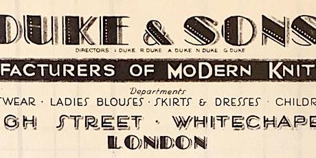 Art Deco in Whitechapel tickets