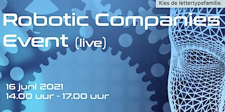Robotic Companies Event Tickets