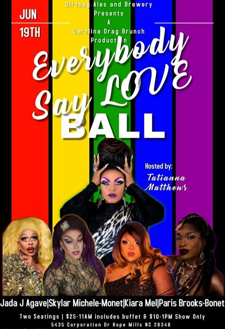 Pride Drag Brunch and Brews : Everybody Say Love! image