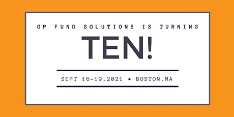 GP Fund Solutions 10th Anniversary Event - Travel Information tickets