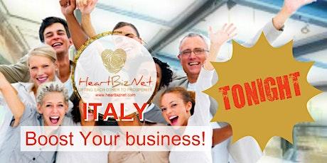 HeartBizNet Italia Business Match Online (23/09) biglietti