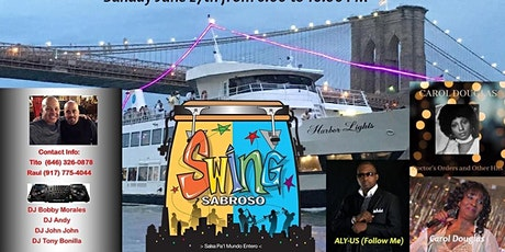 ALL WHITE AFFAIR AFTER BEACH SALSA  BOATRIDE WITH SWING SABROSO tickets