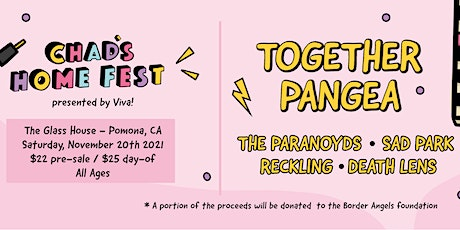 Together PANGEA tickets