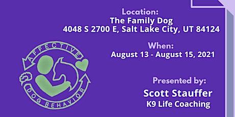 Affective Dog Behavior Workshop Seminar tickets