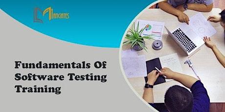 Fundamentals of Software Testing 2 Days Virtual Training in Tijuana Tickets