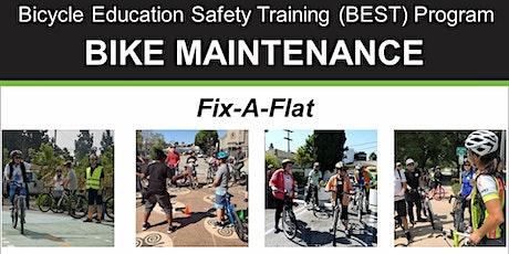 Bike Maintenance: Fix-A-Flat - Online Class tickets
