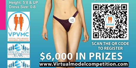 FEMALE 5'8 & UP MODEL AUDITION LIVE VIRTUAL ONLINE tickets