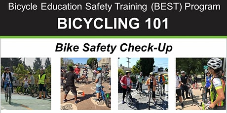 Bicycling 101: Bike Safety Check-Up - Online Class tickets