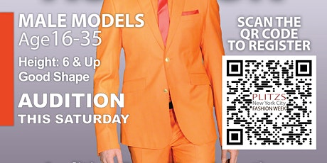 MALE - NEW YORK FASHION WEEK MODEL AUDITION tickets