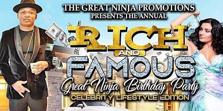 NINJA BIRTHDAY PARTY 2021 tickets