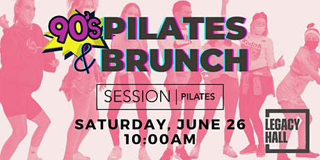 SESSION Pilates Class & Brunch at Legacy Hall tickets