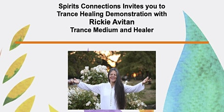 An Evening of Trance Communication & Healing with Rickie Avitan tickets