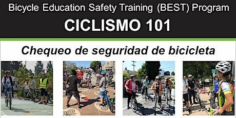 Ciclismo 101: Chequeo de seguridad en bicicleta - POSPUESTO entradas