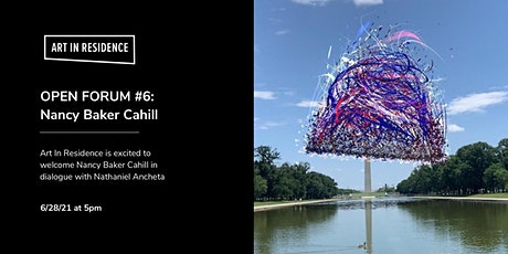 Open Forum #6: Nancy Baker Cahill in Dialogue with Nathaniel Ancheta tickets