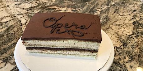 Internet Baking Series - Opera Torte with Bill the Baker tickets