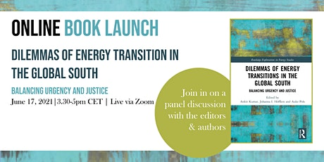 Book launch: Dilemmas of energy transitions in the Global South tickets