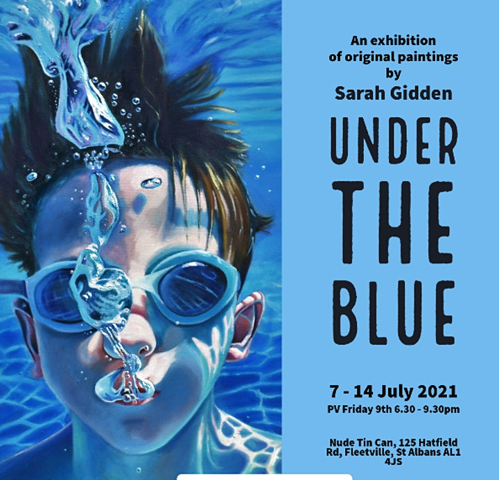 Sarah Gidden 'Under The Blue' Exhibition - Private View. image