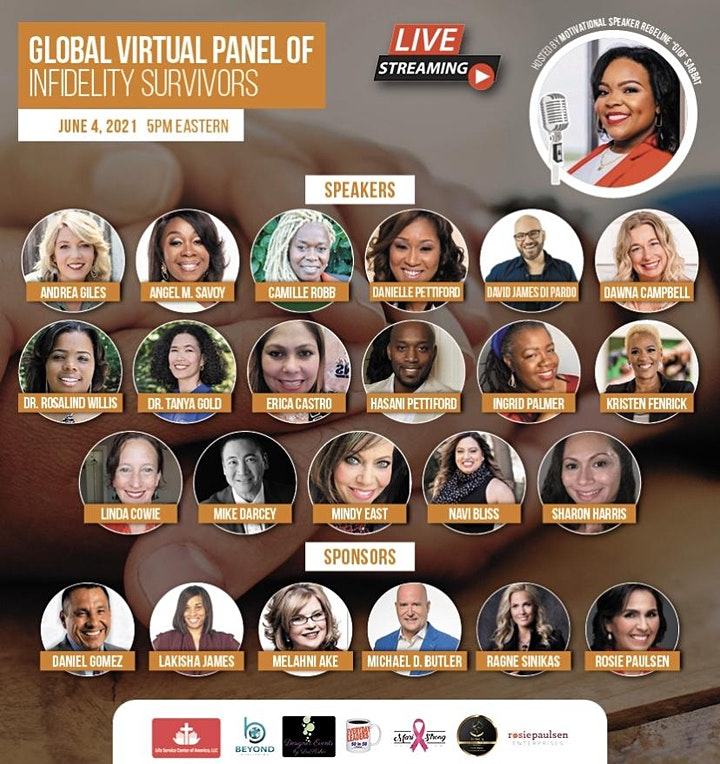 The Global Virtual Panel of Infidelity Survivors Event image