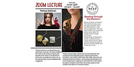Beading Through the Madness – A Special Guest Lecture with Teresa Sullivan tickets