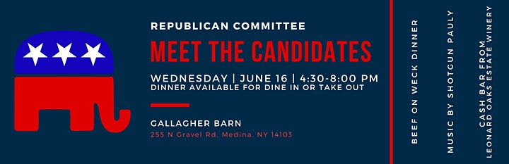 Republican Committee Meet the Candidates Evening image